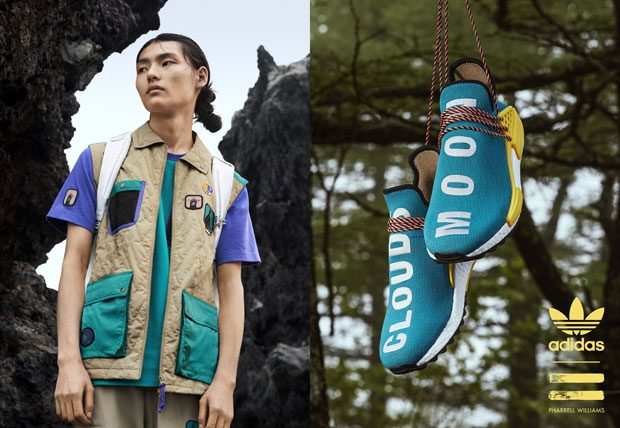 adidas Originals X PHARRELL WILLIAMS Hu Hiking Series