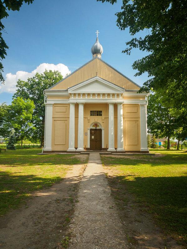 Успенская церковь в Перковичах (1805 г.)