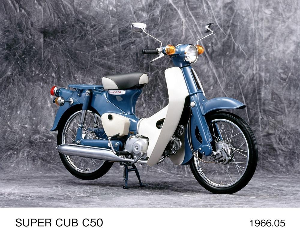Производство Honda Super Cub перевалило отметку в 100 000 000 единиц