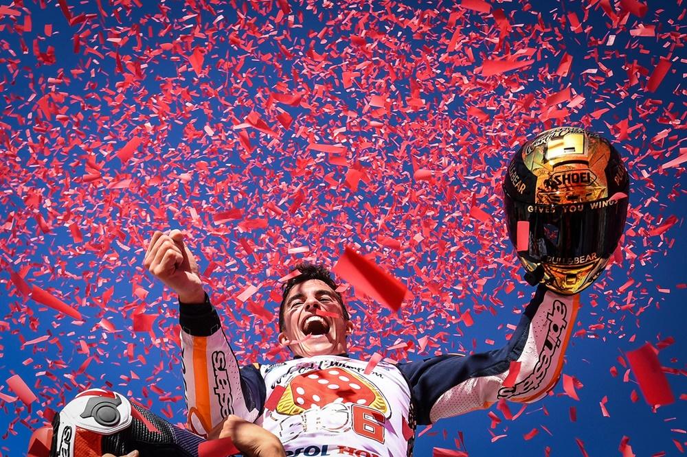 Марк Маркес - чемпон MotoGP 2017