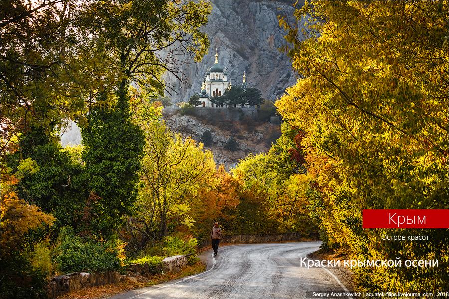 Зачем осень ехать в Крым