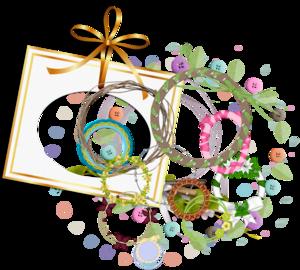 цифровой скрапбукинг, скрап набор, PSD шаблоны, цветы на прозрачном фоне, для фотошопа, рукоделки василисы