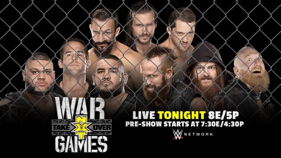 Post image of NXT TakeOver: War Games