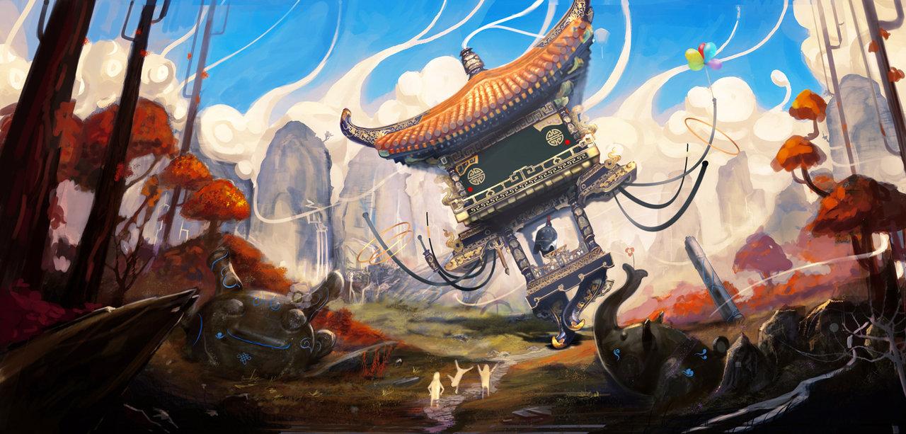 Ю Ченг Хонг. Что-то между реализмом и аниме.