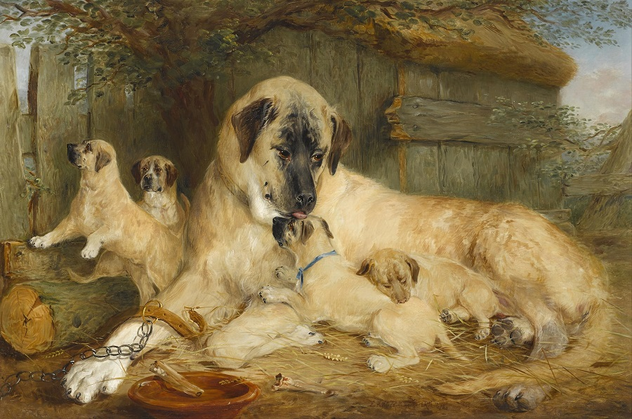 The Proud Mother , 1872