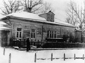 1937. Дом о. Павла Флоренского в Сергиевом Посаде