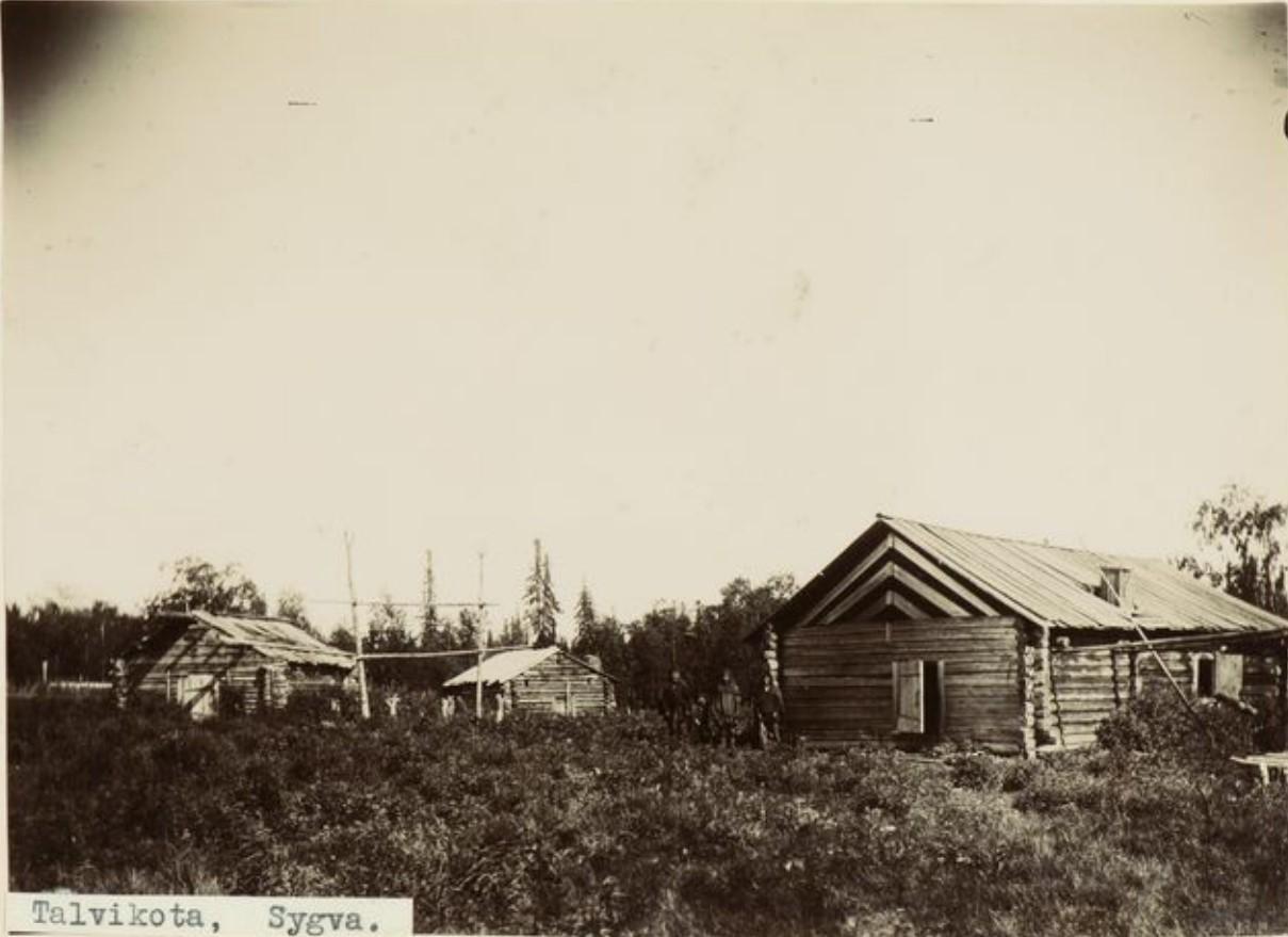 Деревня на реке Сыгва
