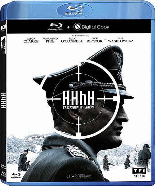 Мозг Гиммлера зовется Гейдрихом / HHhH (2017/BDRip/HDRip)
