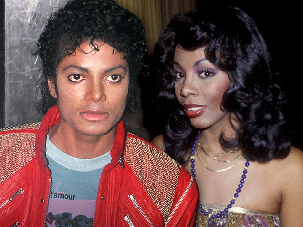 Донна Саммер и Майкл Джексон(1024)