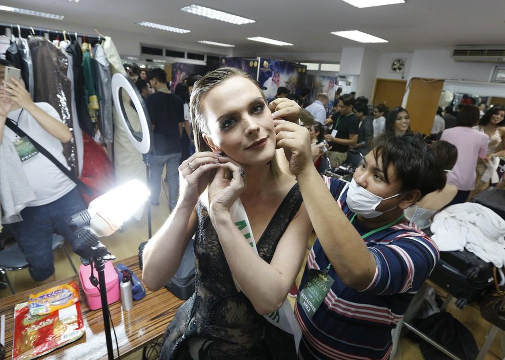Королеву красоты среди трансгендеров выбрали в Таиланде городе, Паттайя, позитивного, образа, транссексуалов, Победа, досталась, 26летней, вьетнамской, певице, Нгуйен, второе, третье, места, заняли, Жаклин, Австралии, Ринрада, Турапан, создания