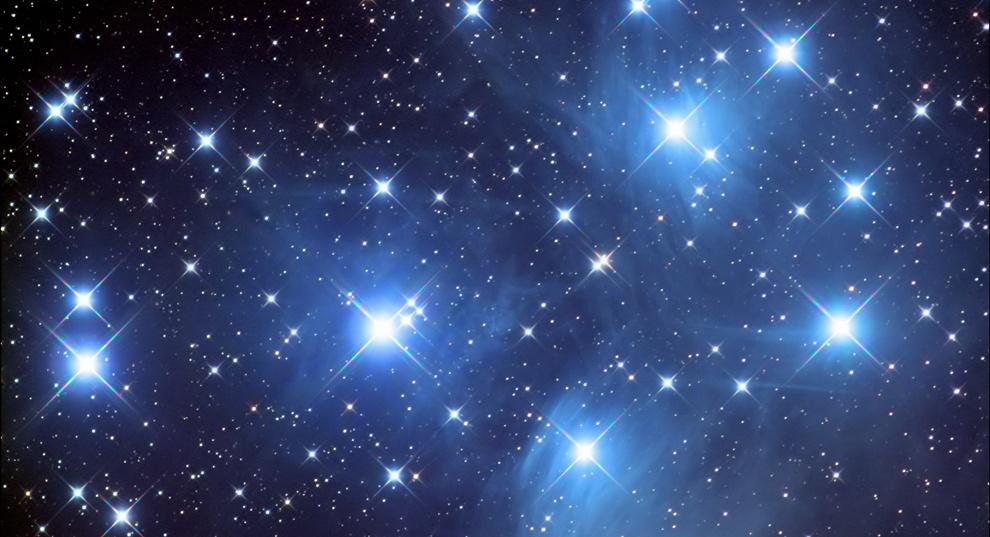 Открытки Международный день планетариев. Звезды
