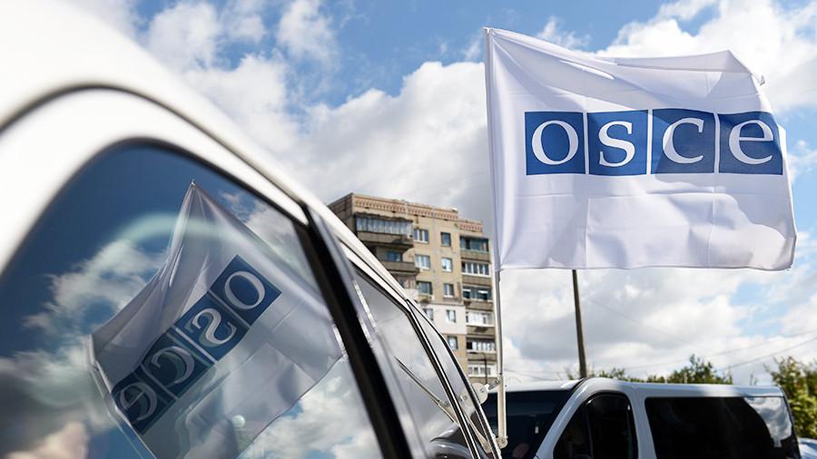 Украинцы спустили собак на представителей ОБСЕ
