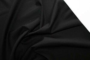 ЛТ924 450руб-м остаток 0,95м 2шт Костюмно-плательная ткань стрейч,цвет черный,ткань приятная,средней плотности,чуть суховата,идеальна для классических брюк со стрелками,школьной формы,юбок,платьев,шир.1,50м,пэ 70%,вискоза 27%,эл-н 3%