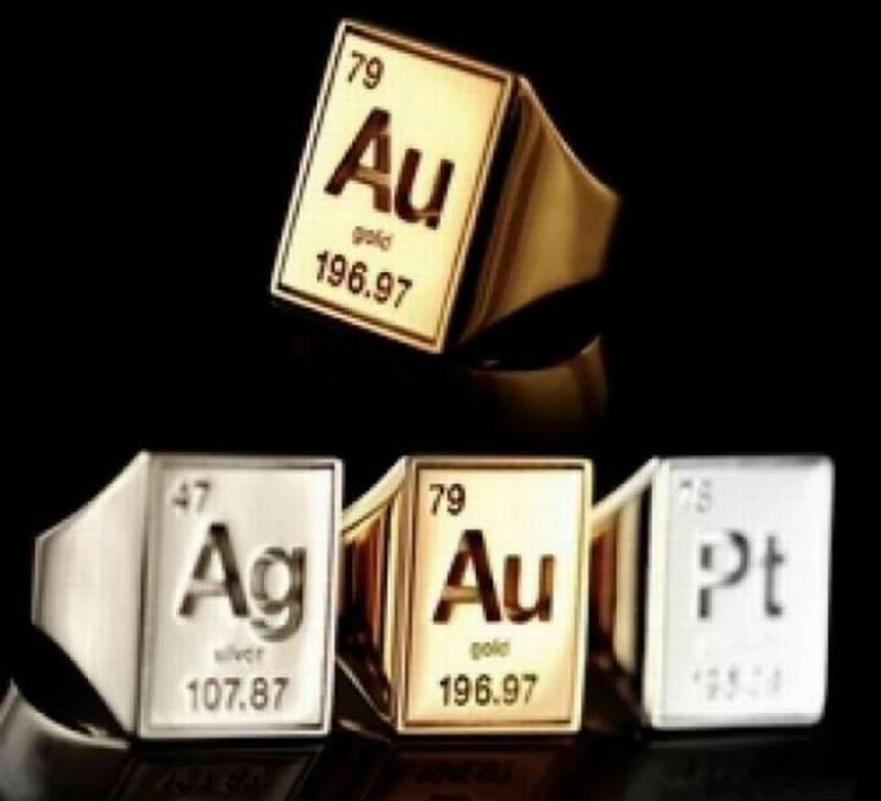 4. Химические элементы Кольца со знаками химических элементов.