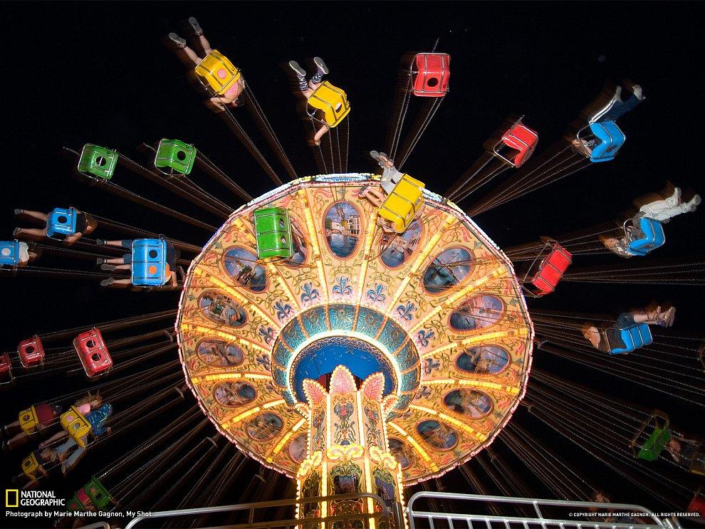 Разноцветные капли (Фото Marc Alexander Sporys):
