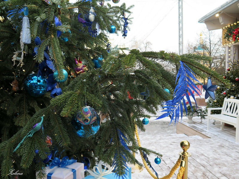 Ёлка на Тверской площади