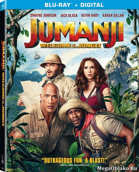 Джуманджи: Зов джунглей / Jumanji: Welcome to the Jungle (2017/BDRip/HDRip/3D)
