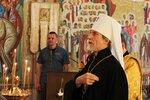 Архиерейское служение в храме Всех святых в земле Российской просиявших