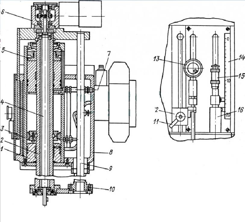 Конструкция прошивочной головки ЭЭ станка