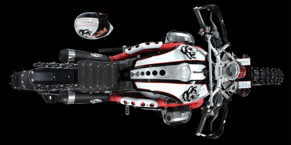 Nagel Motors: кастом BMW R9T Scrambler Husky