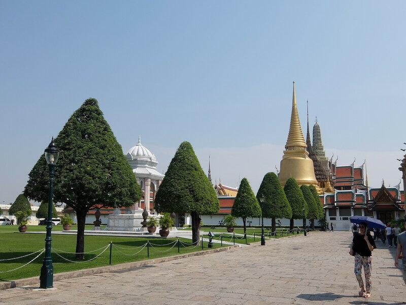 Бангкок - Дорога к Храму Изумрудного Будды