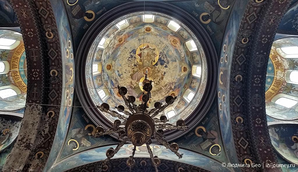 Новый Афон монастырь внутри