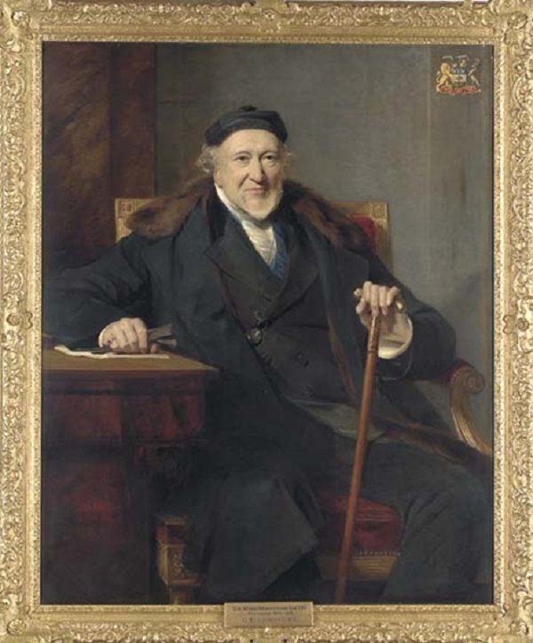 Portrait of Sir Moses Montefiore (1784-1885)