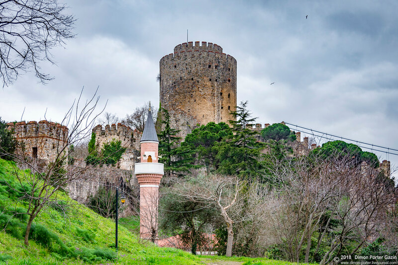 Стамбул. Румейская крепость