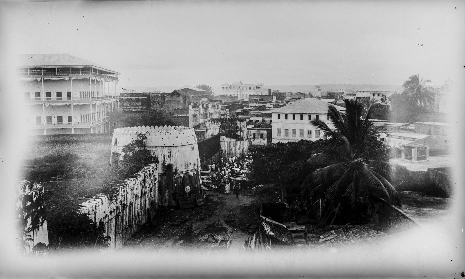 02. Занзибар. Рынок рабов у стен древней крепости