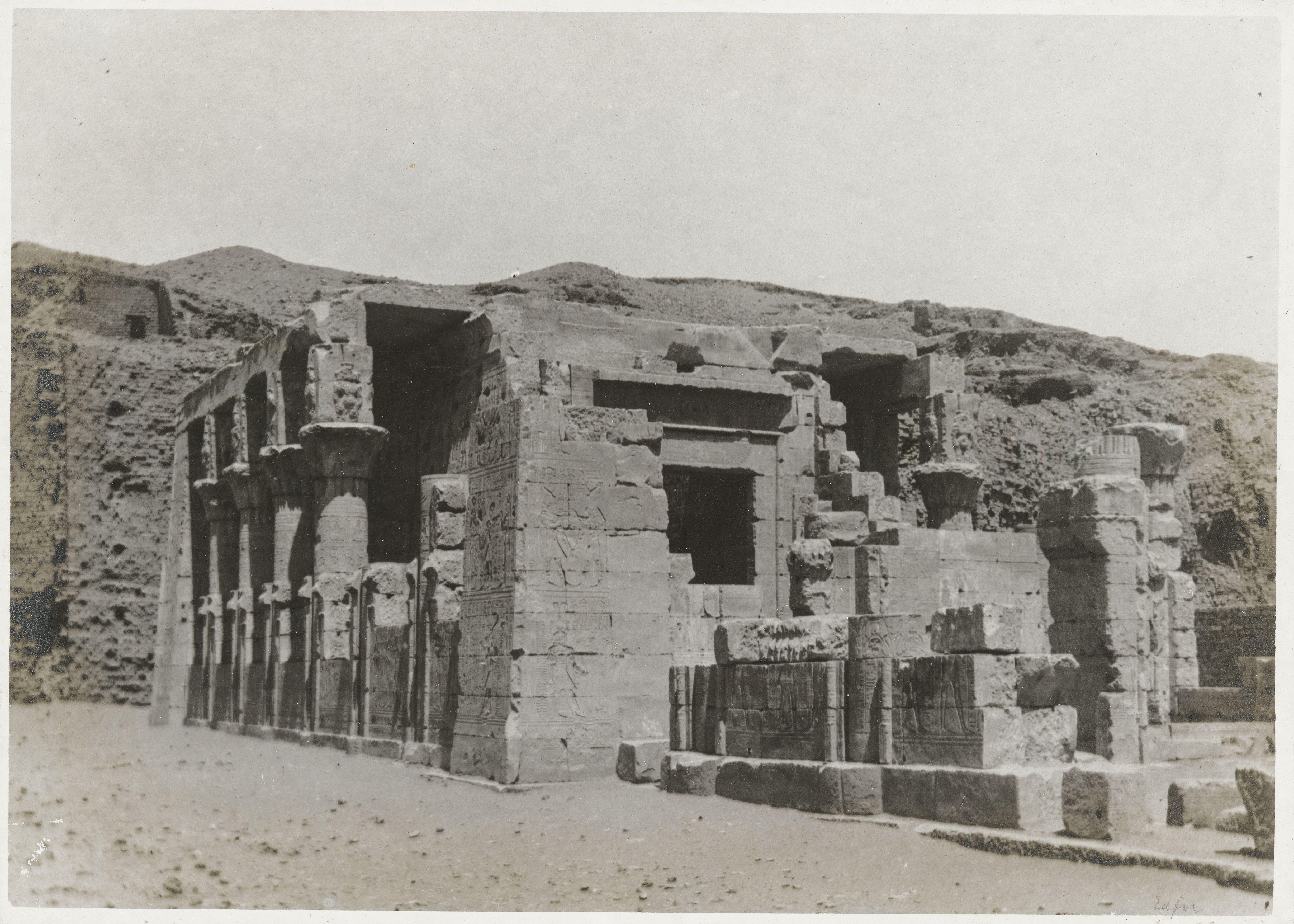 Эдфу. Храм Хора Бехдетского