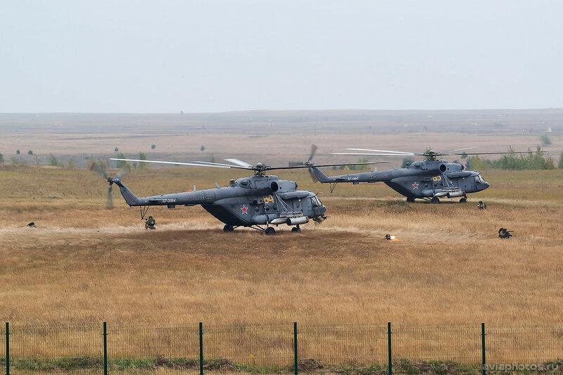 Миль Ми-8МТВ-5 (RF-91184 / 84 желтый) ВКС России 0481_D806156