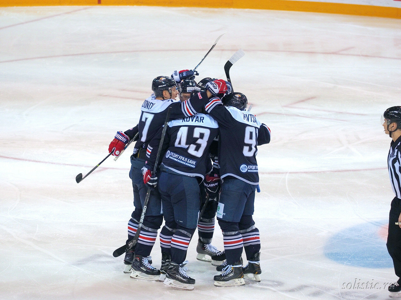 67 Металлург - Локомотив 05.01.2018