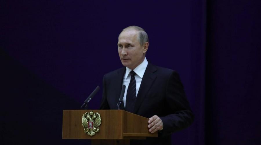 Владимир Путин встретиться с авторами лучших сочинений на тему «Россия, устремлённая в будущее»