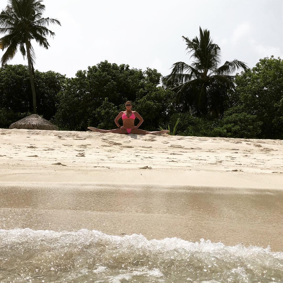 Анастасия Волочкова отдыхает на Мальдивах 41летняя, российская, балерина, Анастасия, Волочкова, наслаждается, отдыхом, Мальдивах