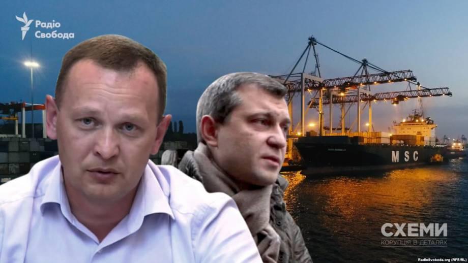 Фирма, начавшая зарабатывать в портах, связанная с бизнесменом Крючковым – «Схемы»