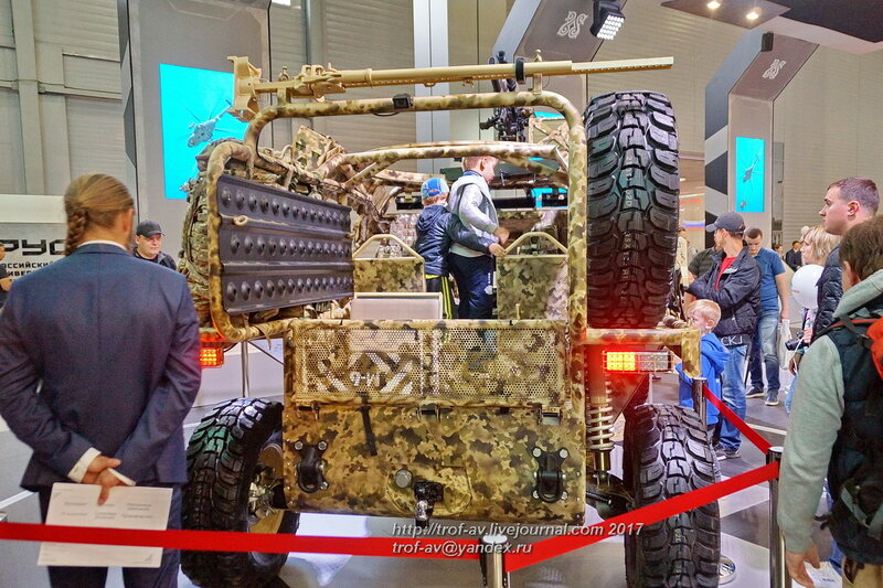 Аэромобильный многоцелевой автовездеход багги Чаборз-М3, форум Армия-2017