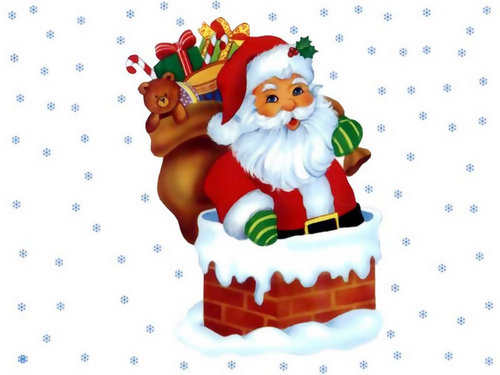 Открытки. С Днем Рождения Дед Мороз. Поздравляем открытки фото рисунки картинки поздравления