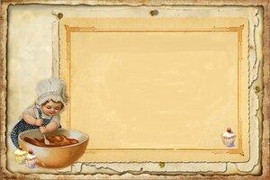кухонный декор, карточки