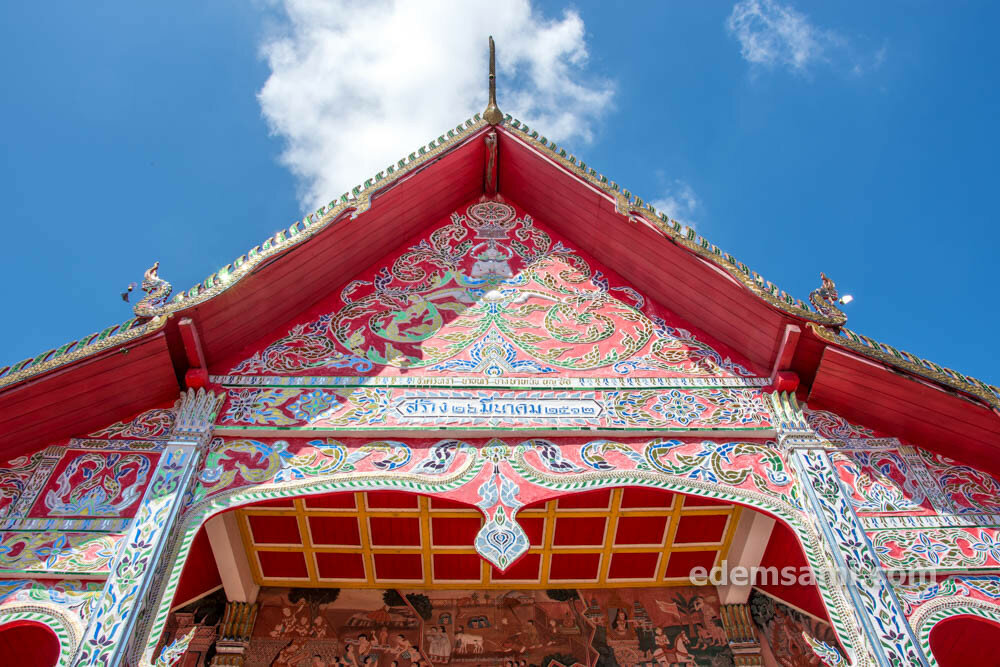 Таиланд Нан буддийский храм