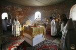 Первая литургия в с. Адамовка