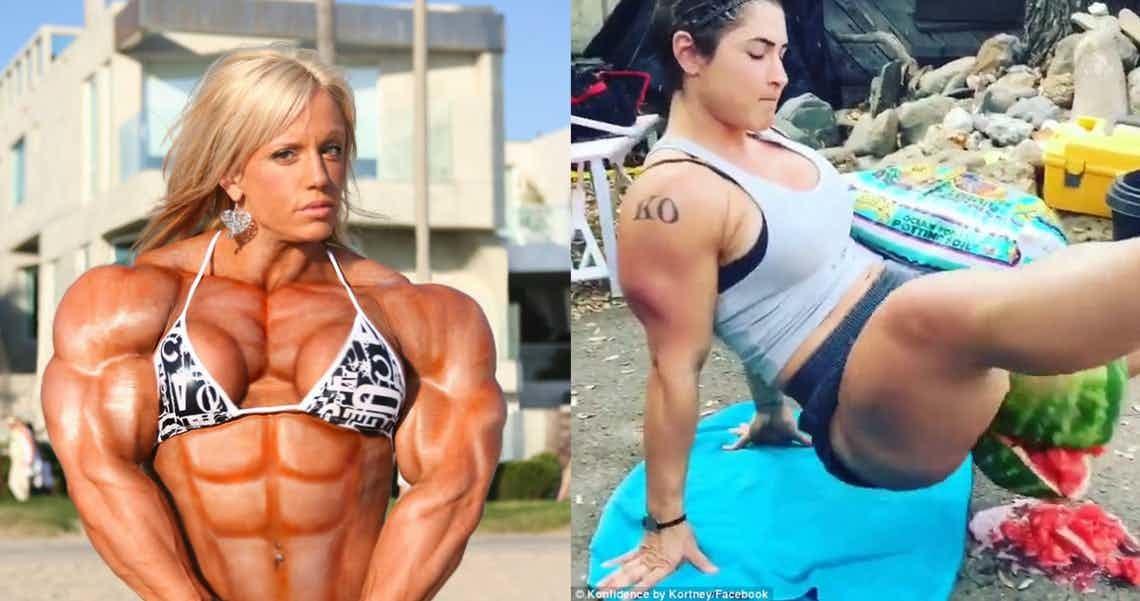Самые сильные девушки-бодибилдеры (16 фото)