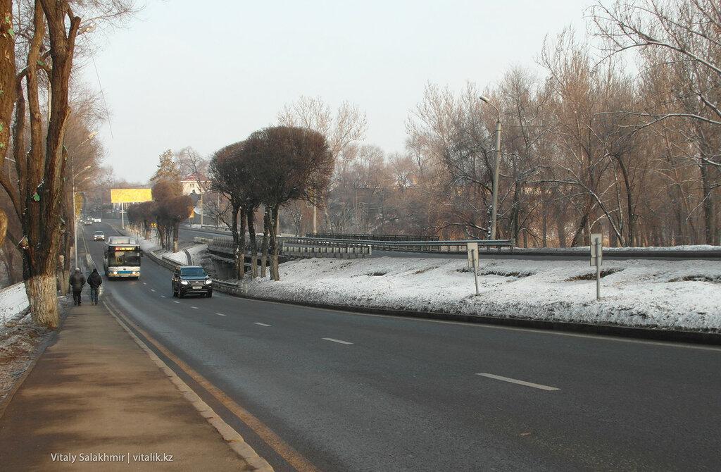 Дорога к аэропорту.