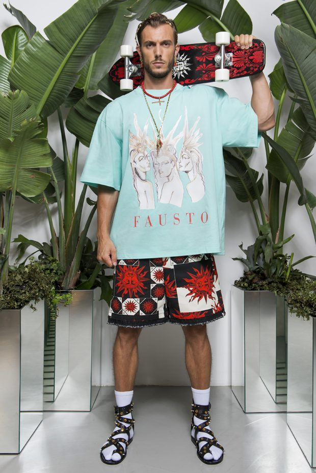 #MFW: FAUSTO PUGLISI Spring Summer 2018 Collection