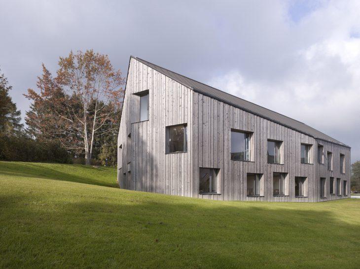 Boegli Kramp Architekten designed the La Branche Home for the Disabled Healthcare complex in Switzer