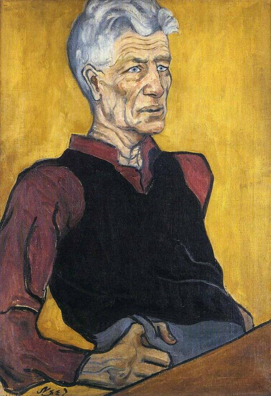Мужской  портрет.  Элис  Нил