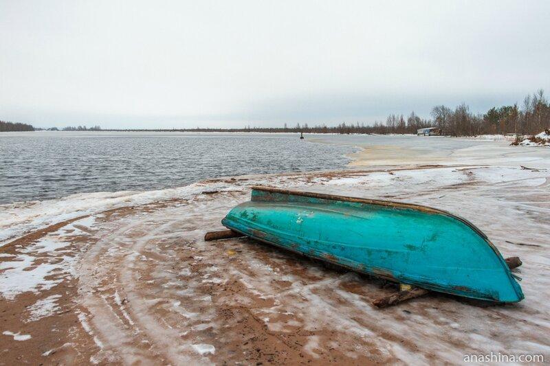 Река Андома, Вологодская область