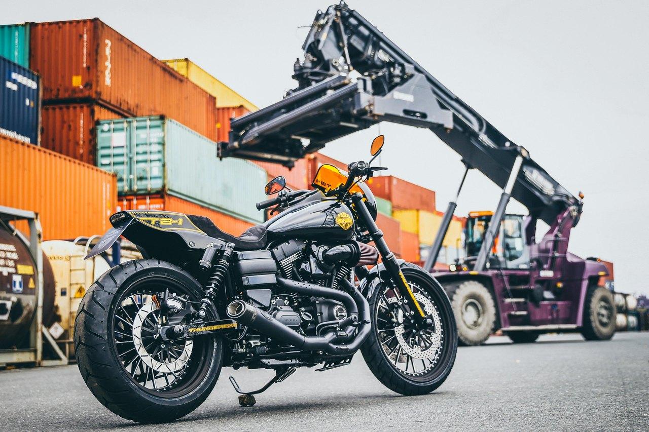 Thunderbike: Кастом Harley-Davidson Dyna Low Rider S TB 1 RoadRunner