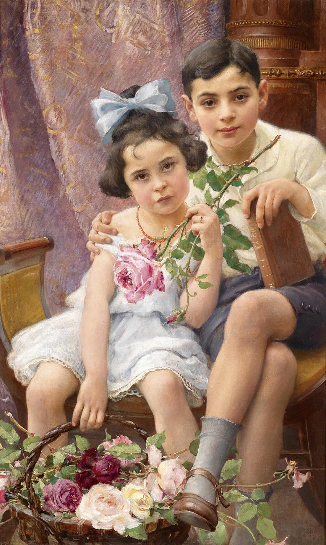 The Siblings, 1912.