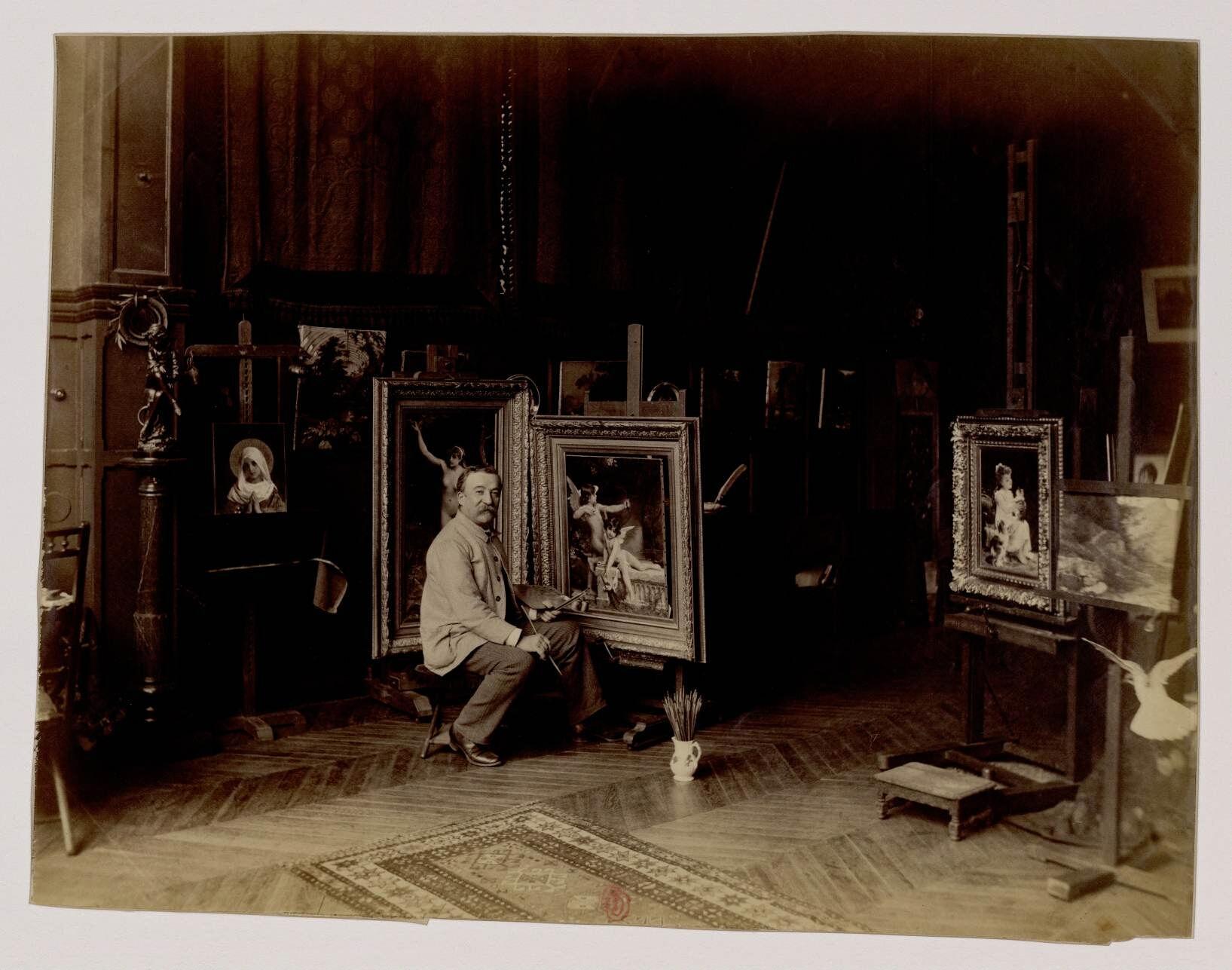 21. Эмиль Мюнье (1810-1895) — французский художник-академист, ученик Вильяма-Адольфа Бугро