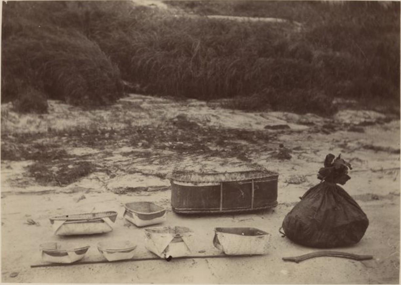Туески и коробы. Река Вах